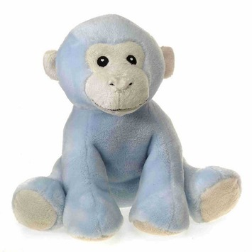 """Comfies - Blue Monkey w/Rattle 7.5"""" picture"""