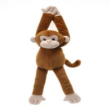 "Travel Tails - Bean Bag Hanging Monkey 15.5"" picture"