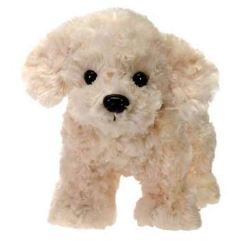"Fiesta Stuffed Yellow Labrador Dog 9.5"" picture"