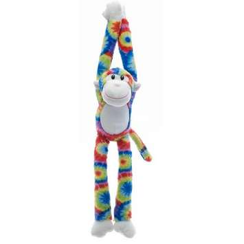 Fiesta Stuffed Tie-Dye Monkey 16&quot; picture