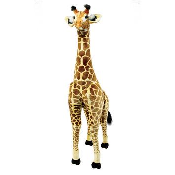 """Fiesta Stuffed Giraffe 72"""" picture"""