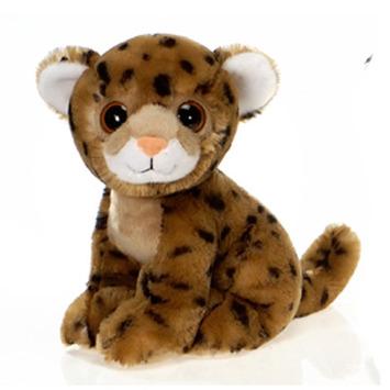 "Fiesta Stuffed Big Eyes Cheetah 9"" picture"