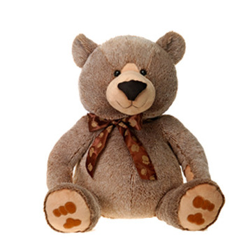 "Fiesta Stuffed Taupe Sitting Bear 30"" picture"