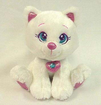 """Sparkle Starz  Boo White Cat 8"""" picture"""