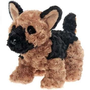 "Fiesta Stuffed German Shepherd Dog 9.5"" picture"