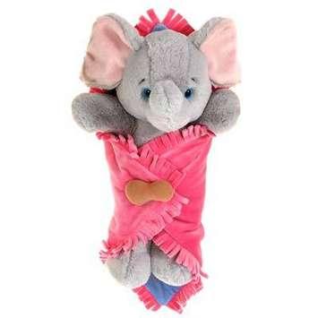 "Fiesta Blanket Babies? Elephant 11"" picture"