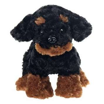 "Fiesta Stuffed Rottweiler Puppy 9.5"" picture"