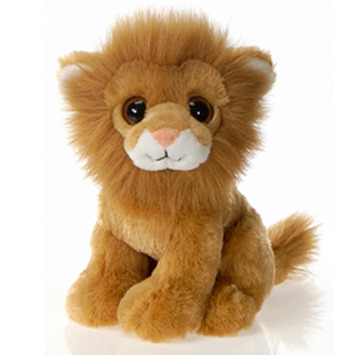 "Fiesta Stuffed Big Eyes Lion 9"" picture"