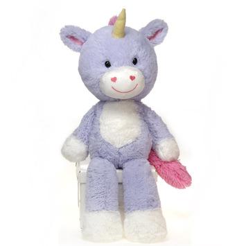 """Fuzzy Folk - """"Lilly"""" Unicorn 16"""" picture"""
