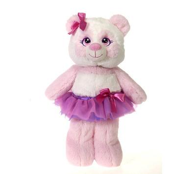 """Tutu Sweet - Chiffon Pink Panda 12"""" picture"""