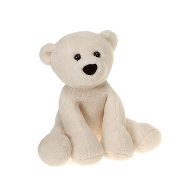 "Comfies  Bean Bag Polar Bear 7.5"" picture"