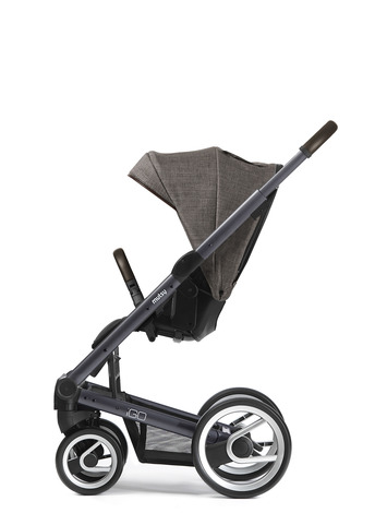Igo dark grey farmer chassis with dark brown handle and farmer earth seat unit picture