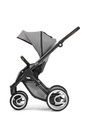 Evo black farmer chassis with dark brown handle and farmer mist seat unit picture