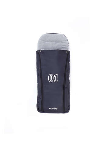 Duoseat Footmuff Navy - Large picture