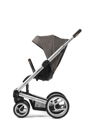 Igo silver farmer chassis with dark brown handle and farmer earth seat unit picture