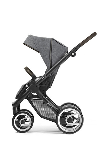 Evo black farmer chassis with dark brown handle and farmer fishbone dawn seat unit picture