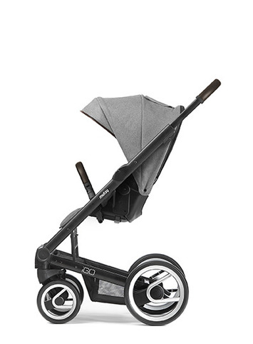 Igo black farmer chassis with dark brown handle and farmer mist seat unit picture