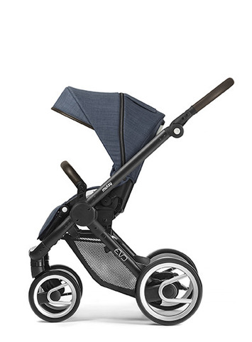 Evo black farmer chassis with dark brown handle and farmer shadow seat unit picture