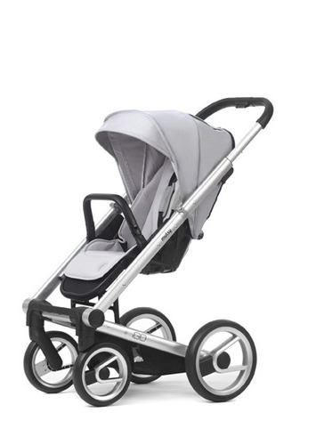 Igo silver chassis with black handle and lite silver seat unit picture