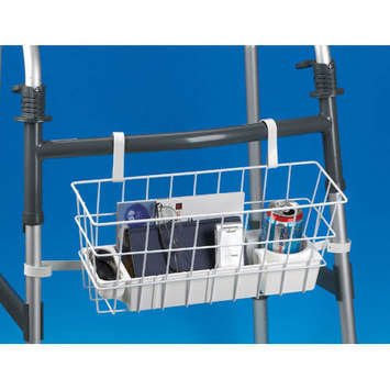 Deluxe Walker Basket with Stabilizing Bars picture