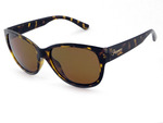 DARLING - Amber Tort w/Brown Polarized