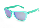 SPITFIRE - Aqua w/Brown lens (Blue mirror)