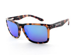 SUNSET BEACH - Shiny Havana Tort w/Brown Lens (Blue Mirror)