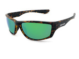 Fort Rock - Matte Tortoise w/Green mirror