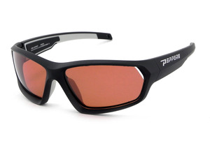 DEPTH CHARGE - Matte Black  w/Rose Polarized picture