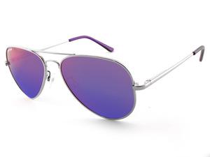 MAVERICK - Silver w/Brown lens (Purple Mirror) picture