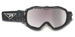 POWDER HOUND - Black w. Smoke Lens (Silver Mirror) picture