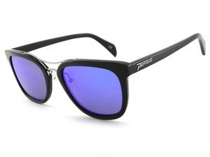 LENOX - Black w/ Brown Lens (Blue Mirror) picture