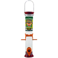 "Team Sports 15"" Maroon and Burnt Orange Sunflower/Mixed Seed Feeder"