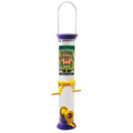 "Team Sports 15"" Purple and Yellow Sunflower/Mixed Seed Feeder"