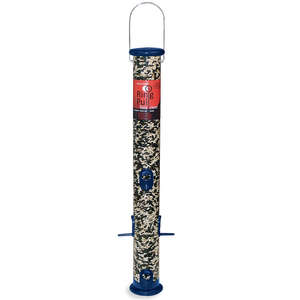 "Ring Pull 23"" Midnight Blue Sunflower/Mixed Seed Feeder with Microban Antimicrobial Technology picture"