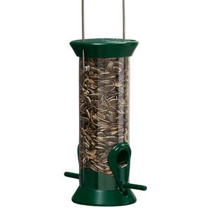 New Generation 8&quot; Forest Green Sunflower/Mixed Seed Feeder picture