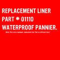 Waterproof Pannier Replacement Liner