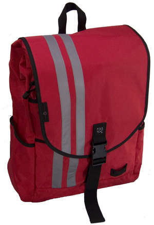 Waterproof, Commuter, Medium (1500 Cubic Inches), Red picture