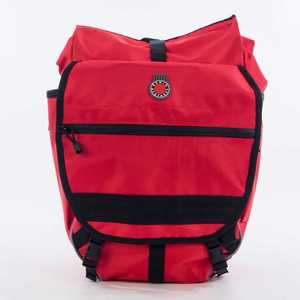 Waterproof Backpack Pannier, Red picture