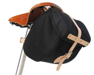 Minnehaha Canvas Saddle Bag, Small picture