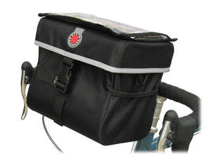 QR Waterproof Handlebar Bag, Large (430 Cubic Inches) picture