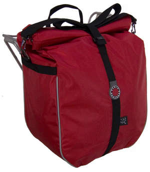 Waterproof Pannier, Red picture
