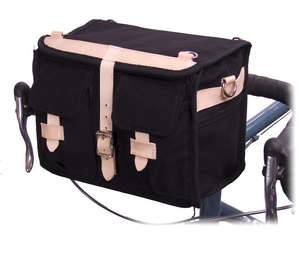 Minnehaha Canvas Handlebar Bag picture