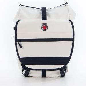 Waterproof Backpack Pannier, White picture