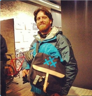 #30 Days of Biking Canvas Shoulder Bag picture