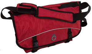 Messenger Bag, Medium (1100 Cubic Inches), Red picture