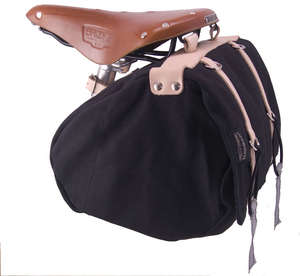 Minnehaha Canvas Saddle Bag, Medium picture