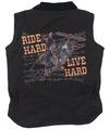 INF/TOD Ride Hard Live Hard Canvas VEST, Brown