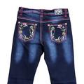 Infant/ Toddler Floral Trim Jean