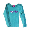 Toddler Luv Equals 2X2 Long Sleeve Lace Arm